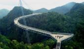 Podul suspendat Langkawi din Malaezia