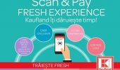 Kaufland a lansat aplicația mobilă Scan & Pay pe Google Play și App Store
