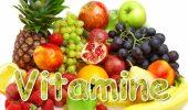 Vitaminele, substanțe organice care mențin funcționarea fiecărei celule din corp