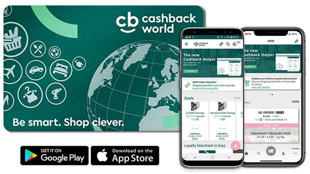 Cashback World - înregistrează-te acum pentru un card de reduceri la care primești bani înapoi