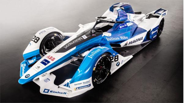 Aspect mașină curse FIA Formula E